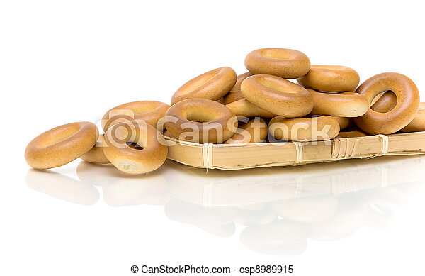 Culinary product bagels - csp8989915