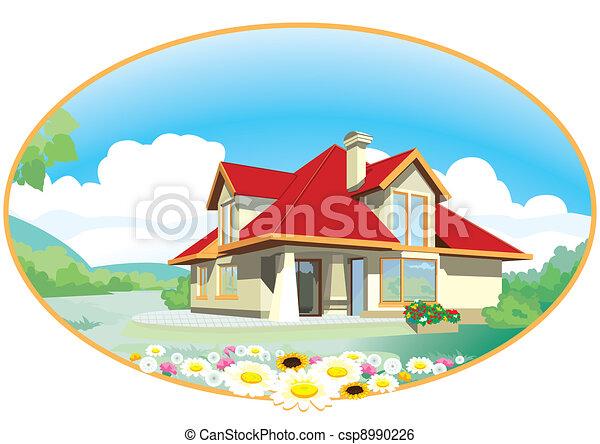 House - csp8990226