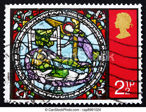 Postage stamp GB 1971 Dream of the Kings - csp8991024