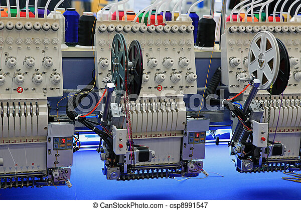 Industrial Embroidery Machine  - csp8991547