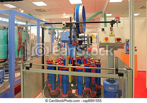 machine for weaving rope - csp8991555
