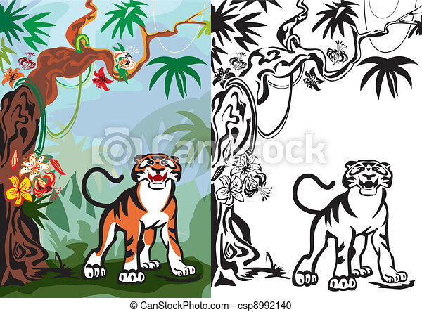 tiger - csp8992140