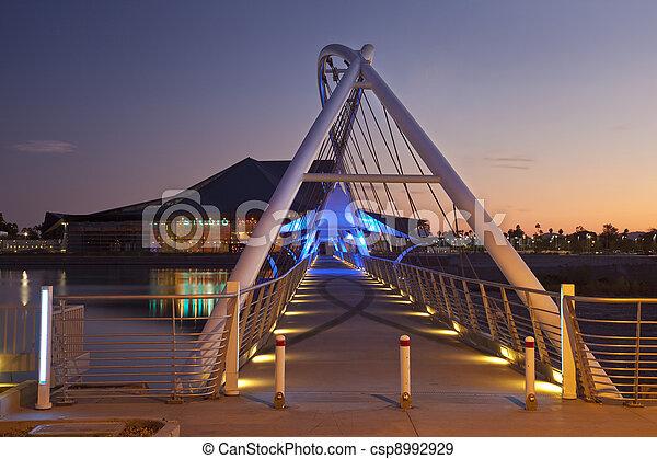 Rio Salado Pedestrian Bridge - csp8992929