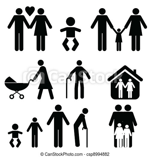 Family and life - csp8994882