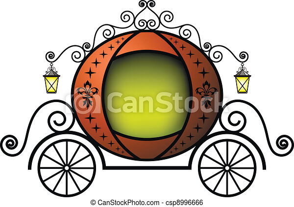 Fairytale carriage - csp8996666