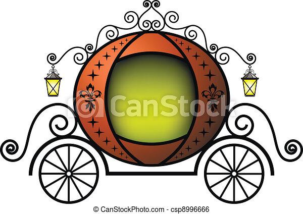 Fairytale carriage - csp8996666
