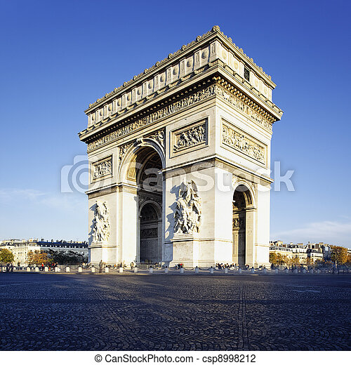Arc de Triomphe - csp8998212