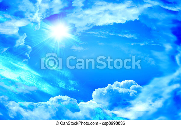 The divine sky - csp8998836