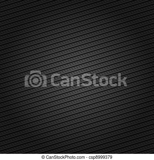 Corduroy black background, dotted lines - csp8999379