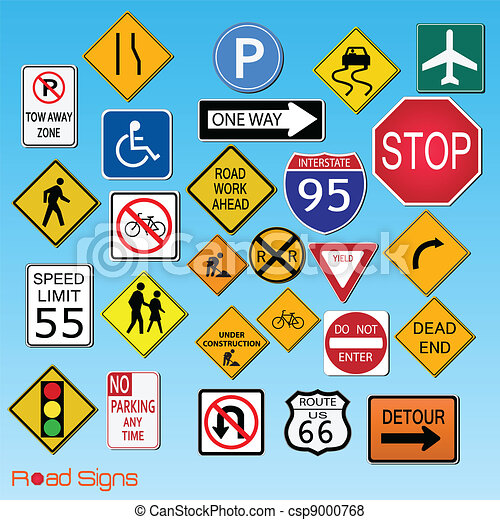 Road Signs - csp9000768