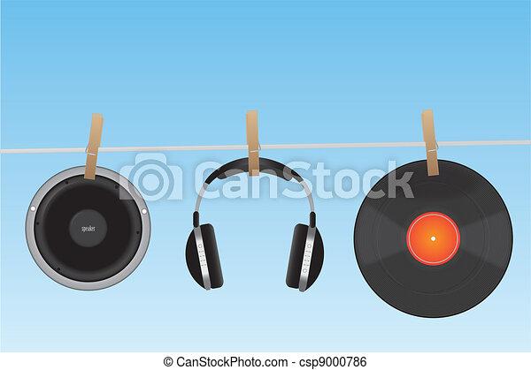 Audio Items - csp9000786