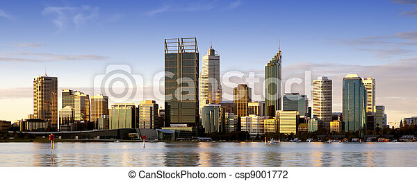Perth at Dusk - csp9001772