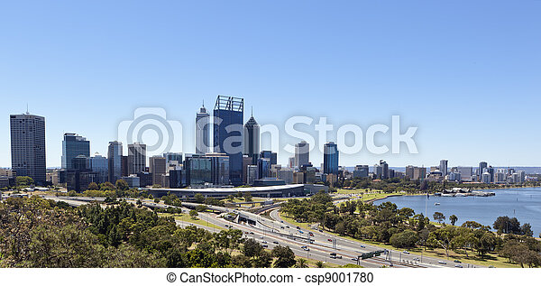 Perth from King's Park - csp9001780