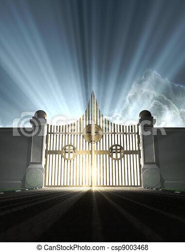 Heavens Pearly Gates - csp9003468