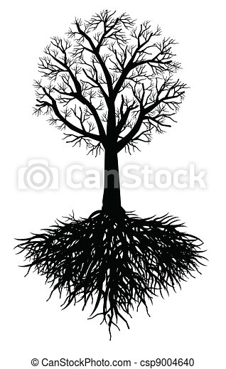 tree root vector - csp9004640