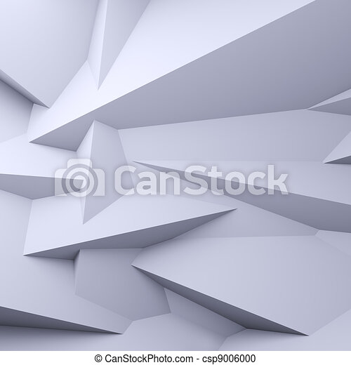 Faceted background. - csp9006000