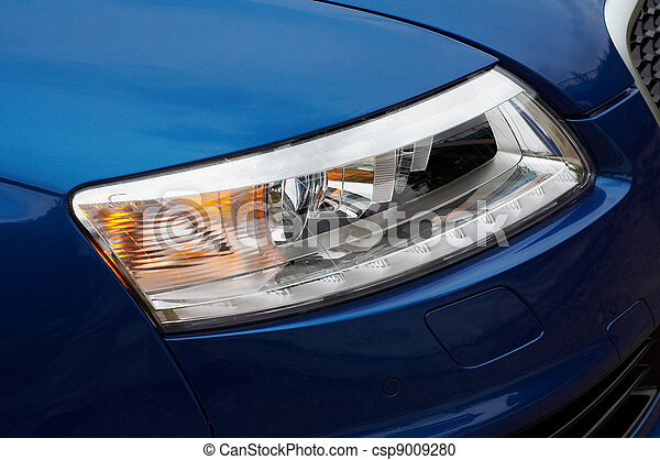 Headlight detail - csp9009280