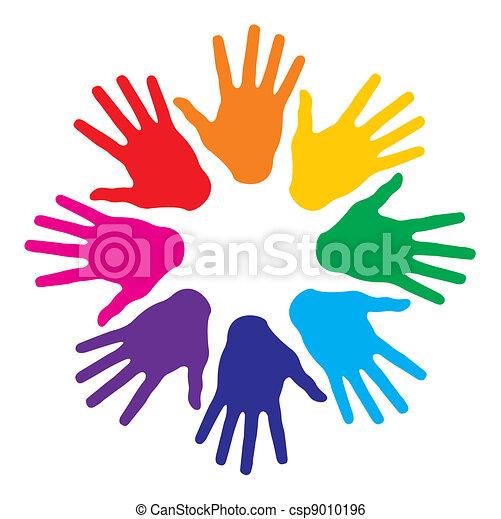 Handprint Logo Design