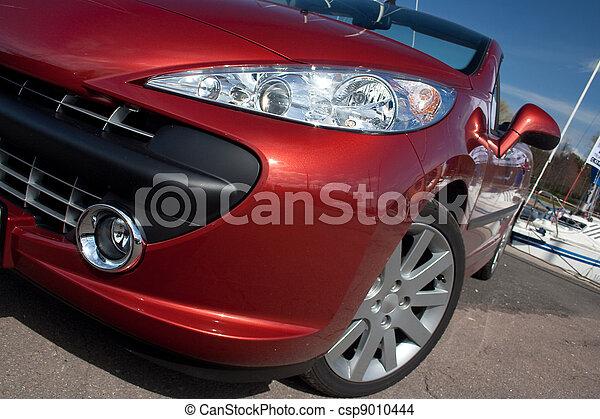 Cabriolet car detail - csp9010444