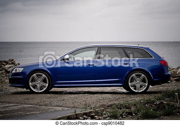 High performance family estate car - csp9010482
