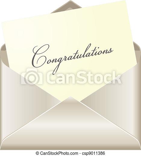 Congratulations card - csp9011386
