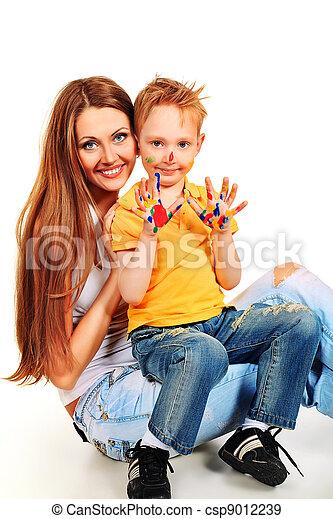 parenting - csp9012239