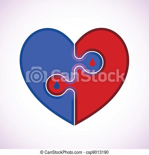 Medical Heart Icon - csp9013190