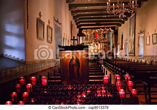 Guadalupe Shrine Serra Chapel Mission San Juan Capistrano Califo - csp9013379