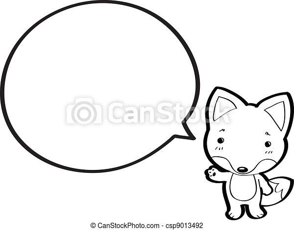 El lobo de caricatura - Imagui