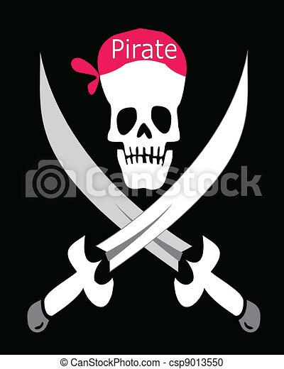 Pirate Symbol - csp9013550
