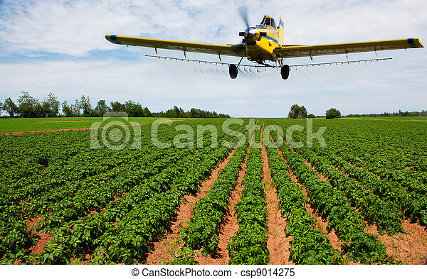 Crop dusting - csp9014275