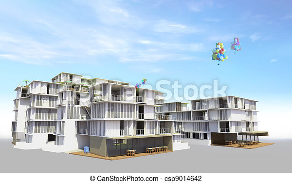 Residential rendered - csp9014642