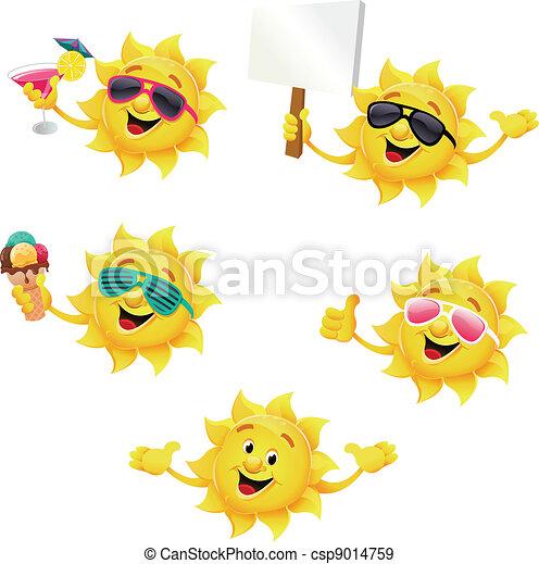 Sun Character Set - csp9014759