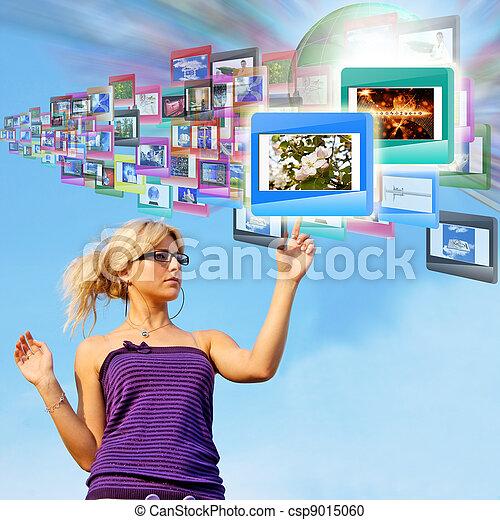 tecnologia, internet - csp9015060
