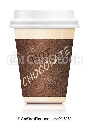 Clip Art Hot Chocolate Clip Art hot chocolate stock illustrations 8450 clip art illustration depicting a single artby