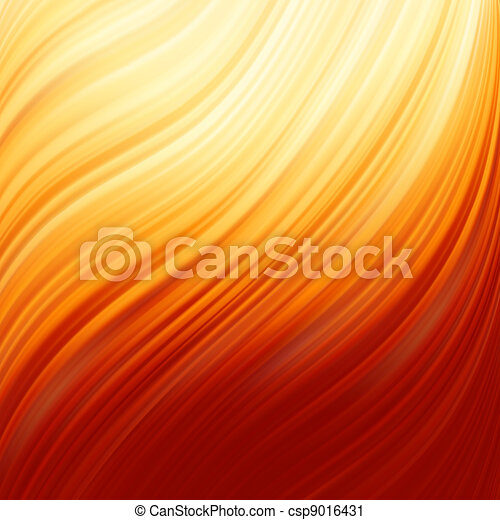 Abstract glow Twist with fire flow. EPS 8 - csp9016431