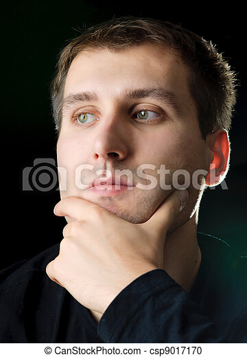 pensando, homens - csp9017170