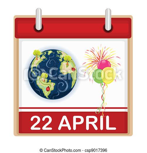 Earth Day Celebration - csp9017396