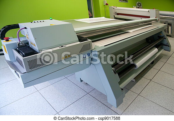 Digital printing - wide format printer - csp9017588