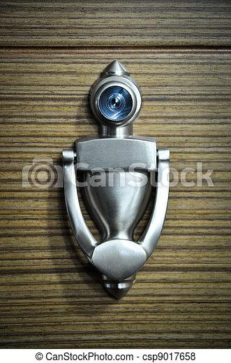 Metal door handle - csp9017658