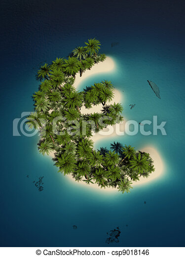 Euro island - csp9018146