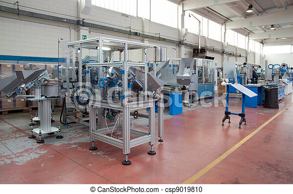 Factory - Building line e machine for automation - csp9019810