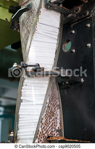 Modern cigarette factory  - csp9020505