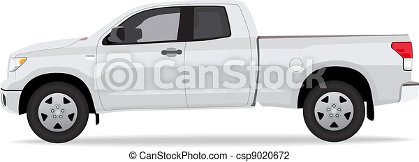 Pick-up truck - csp9020672