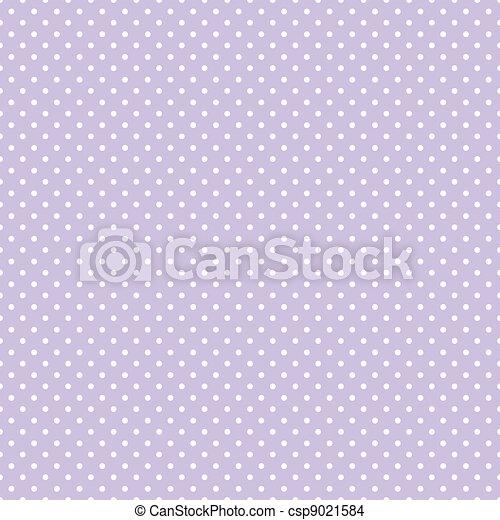 Seamless Polka Dots Pastel Lavender - csp9021584