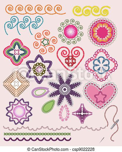 Ornamental set - csp9022228