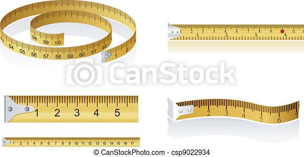 Set of measuring tapes - csp9022934