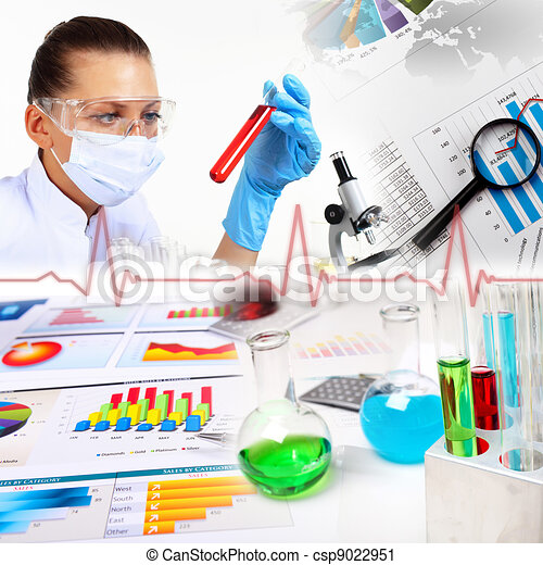Doctor Equipment Drawing Medicine Science And Business