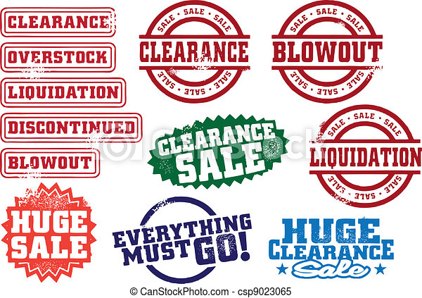 Clearance Sale Stamps - csp9023065