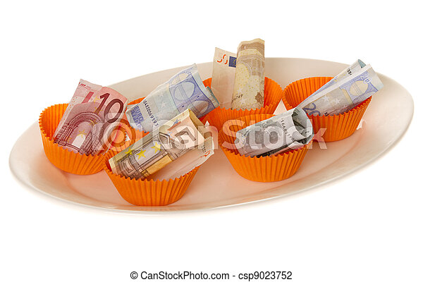Expenses On Food - csp9023752